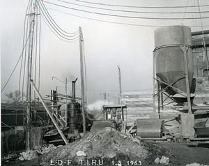 France Issy les Moulineaux EDF TIRU Construction Old Photo Lepicier 1963 A12
