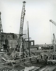 France Issy les Moulineaux EDF TIRU Construction Old Photo Lepicier 1963 B12