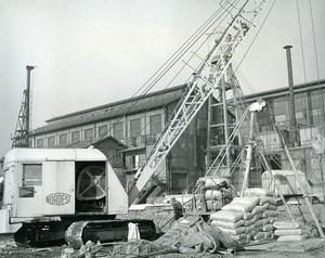 Issy les Moulineaux EDF TIRU Construction Quillery Old Photo Lepicier 1963 7A