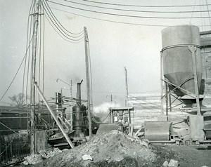 France Issy les Moulineaux EDF TIRU Construction Old Photo Lepicier 1963 12A