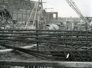 France Issy les Moulineaux EDF TIRU Construction Old Photo Lepicier 1963 C8