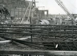 France Issy les Moulineaux EDF TIRU Construction Old Photo Lepicier 1963 C8