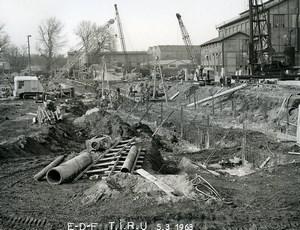 France Issy les Moulineaux EDF TIRU Construction Old Photo Lepicier 1963 B10