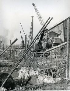 France Issy les Moulineaux EDF TIRU Construction Old Photo Lepicier 1963 A4