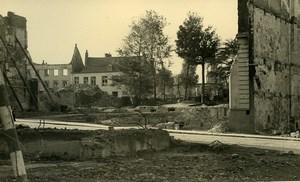 Belgium Tournai Destruction WWII Liberation Ruins Old Photo 1945