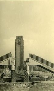 Belgium Tournai Destruction WWII Liberation St Brice Church Ruins Old Photo 1945