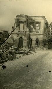 Belgium Tournai Destruction WWII Liberation House Ruins Old Photo 1945