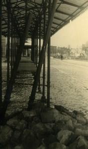 Belgium Tournai Destruction WWII Liberation Old Photo 1945
