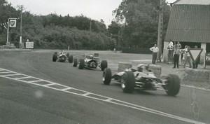 Belgium? Unidentified Racetrack Car Racing Old Photo 1960's