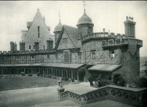 United Kingdom Windsor Castle Horseshoe Cloisters Old Photo Print Frith 1900