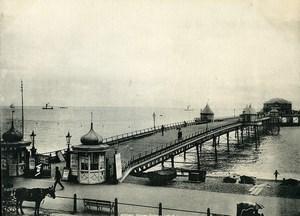 United Kingdom Dover Promenade Pier Old Photo Print Frith 1900