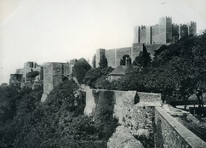 United Kingdom Dover Castle Douvres Old Photo Print 1900
