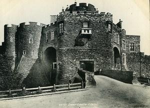 Royaume Uni Douvres le Château Dover Castle ancienne Phototypie Frith 1900