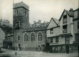 United Kingdom Exeter West Quarter S. Cridland shop Old Photo Print Frith 1900