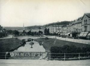 United Kingdom Devon Dawlish Hannaford shop? Old Photo Print 1900