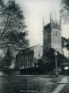 United Kingdom Devon Dawlish St Michael's Church Old Photo Print 1900