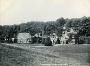 United Kingdom Devon Dawlish Luscombe Castle Old Photo Print Frith 1900
