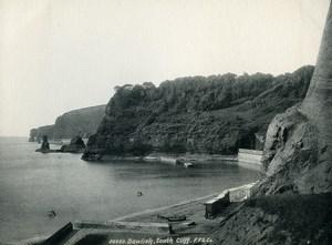 United Kingdom Dawlish South Cliff Old Photo Print Frith 1900