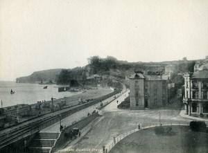 United Kingdom Dawlish Panorama Beach Seaside Old Photo Print Frith 1900
