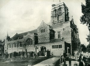 United Kingdom Exeter St David's Church Old Photo Print Frith 1900