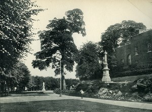 United Kingdom Exeter Northernhay Gardens Old Photo Print Frith 1900