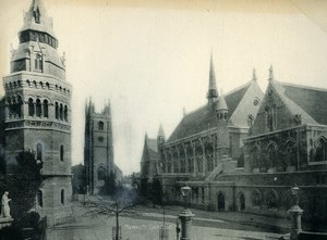 United Kingdom Plymouth Guildhall Old Photo Print 1900