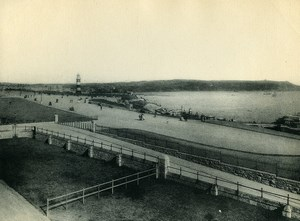 United Kingdom Plymouth Hoe Coastal Public Space Old Photo Print 1900
