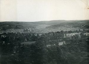 United Kingdom Cornwall Truro Panorama Old Photo Print 1900