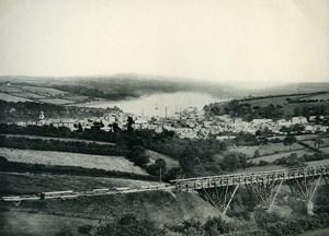 United Kingdom Cornwall Falmouth Penryn Seaside Old Photo Print Frith 1900