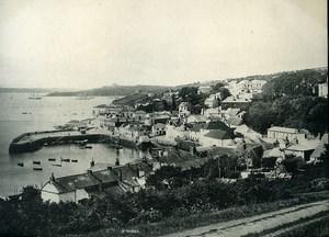 United Kingdom Cornwall Falmouth St Mawes panorama Old Photo Print Frith 1900
