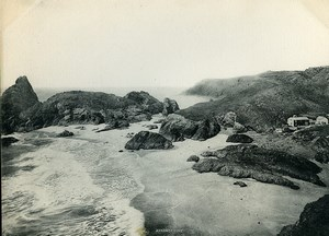 United Kingdom Cornwall The Lizard Kynance Cove Old Photo Print Frith 1900