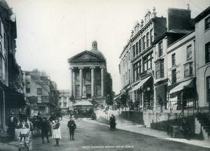 United Kingdom Cornwall Penzance Market Jew Street Old Photo Print Frith 1900