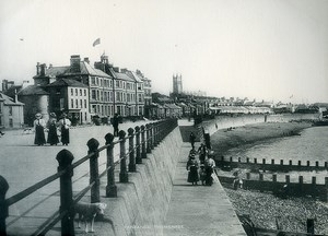 United Kingdom Cornwall Penzance Promenade Seafront Old Photo Print Frith 1900