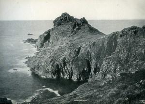 United Kingdom Cornwall Penwith Gurnards Head Old Photo Print 1900
