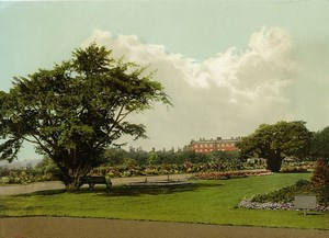 United Kingdom London Hampton Court Palace Old Photo Photochrom 1900