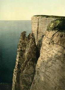 United Kingdom Eastbourne Beachy Head Cliffs Old Photo Photochrom 1900
