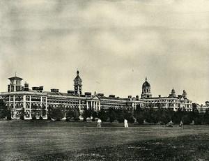 United Kingdom Netley Royal Victoria Military Hospital Old Photo Print 1900