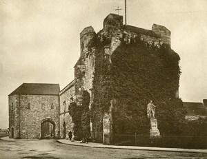 United Kingdom Southampton God's House Tower Gatehouse Old Photo print 1900