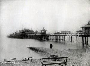 United Kingdom Brighton the West Pier Old Photo 1900