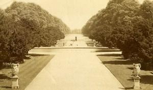 United Kingdom London Hampton Court Palace Gardens Old Spooner Photo 1890
