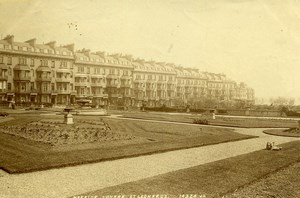 United Kingdom Hastings St Leonard Warrior Square Old Photo 1890