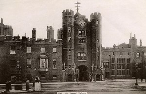 United Kingdom London Londres St James Palace Old Photo 1900