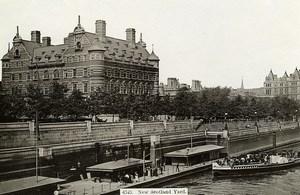 United Kingdom London Londres New Scotland Yard Old Photo 1900