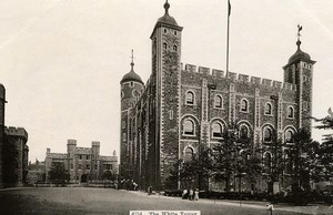 United Kingdom Tower of London Londres White Tower Old Photo 1900