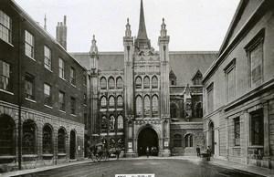United Kingdom London Londres Guidhall Old Photo 1900