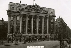 United Kingdom London Londres Mansion House Old Photo 1900