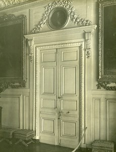 France Versailles Grand Trianon Door Louis XIV Style Old LP Photo 1900