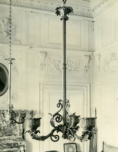 France Versailles Grand Trianon Chandelier Style Empire Old LP Photo 1900