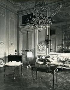 France Versailles Petit Trianon Museum Grand Salon Lounge Old LP Photo 1900