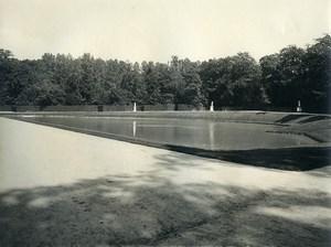France Chateau de Versailles le Bassin du Miroir ancienne LP Photo 1900